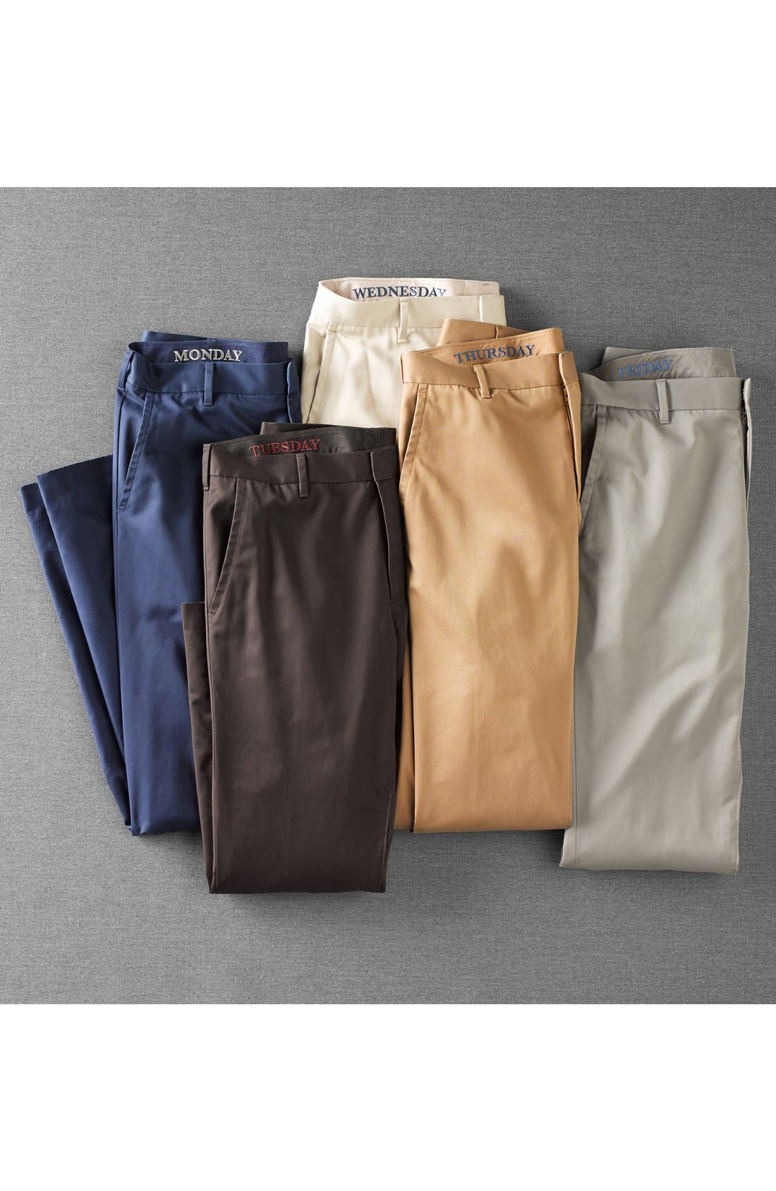Alternate Image 6  - Bonobos 'Weekday Warriors' Non-Iron Slim Fit Cotton Chinos