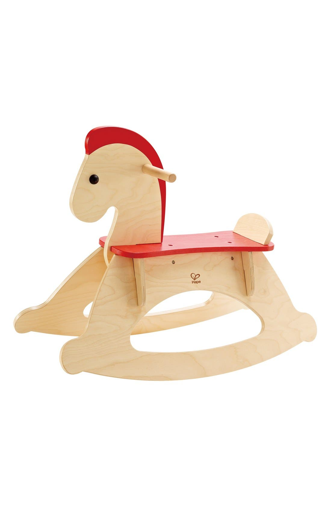 'Rock and Ride' Rocking Horse,                             Main thumbnail 1, color,                             Red