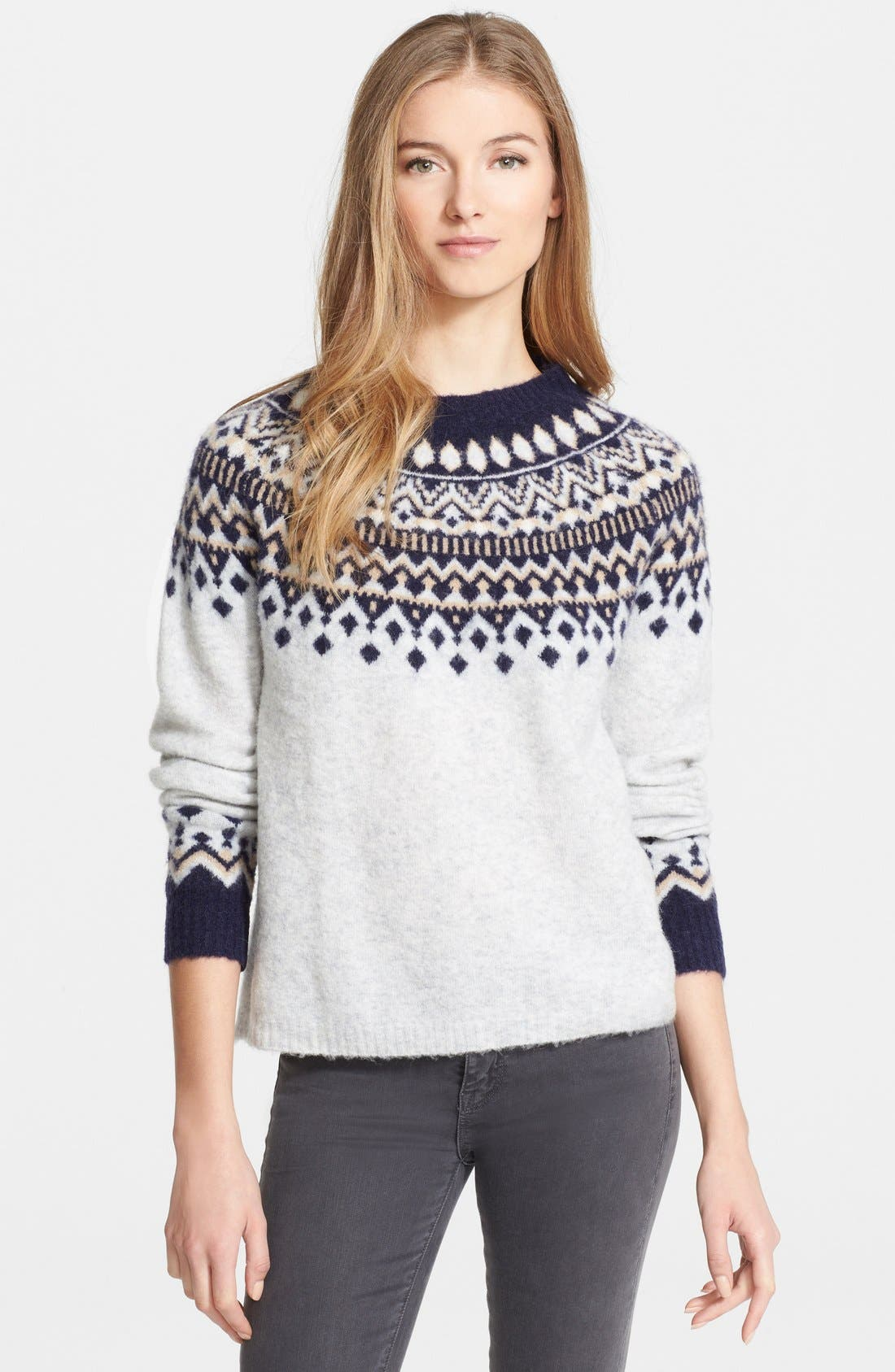 Joie 'Deedra' Fair Isle Sweater | Nordstrom