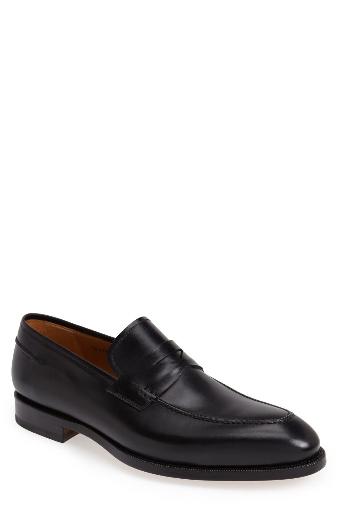 Main Image - Magnanni 'Tevio' Penny Loafer (Men) (Online Only)
