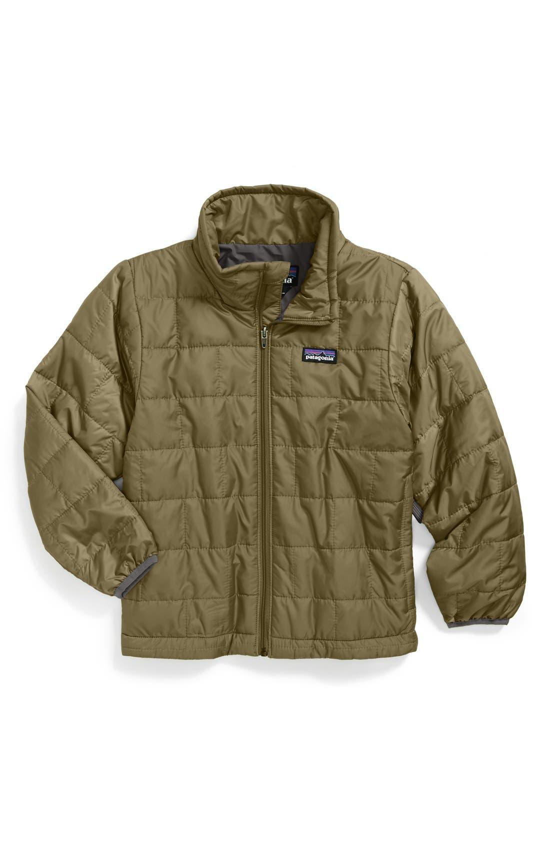 Alternate Image 1 Selected - Patagonia 'Nano Puff' Wind Resistant Water Resistant Jacket (Little Boys & Big Boys)