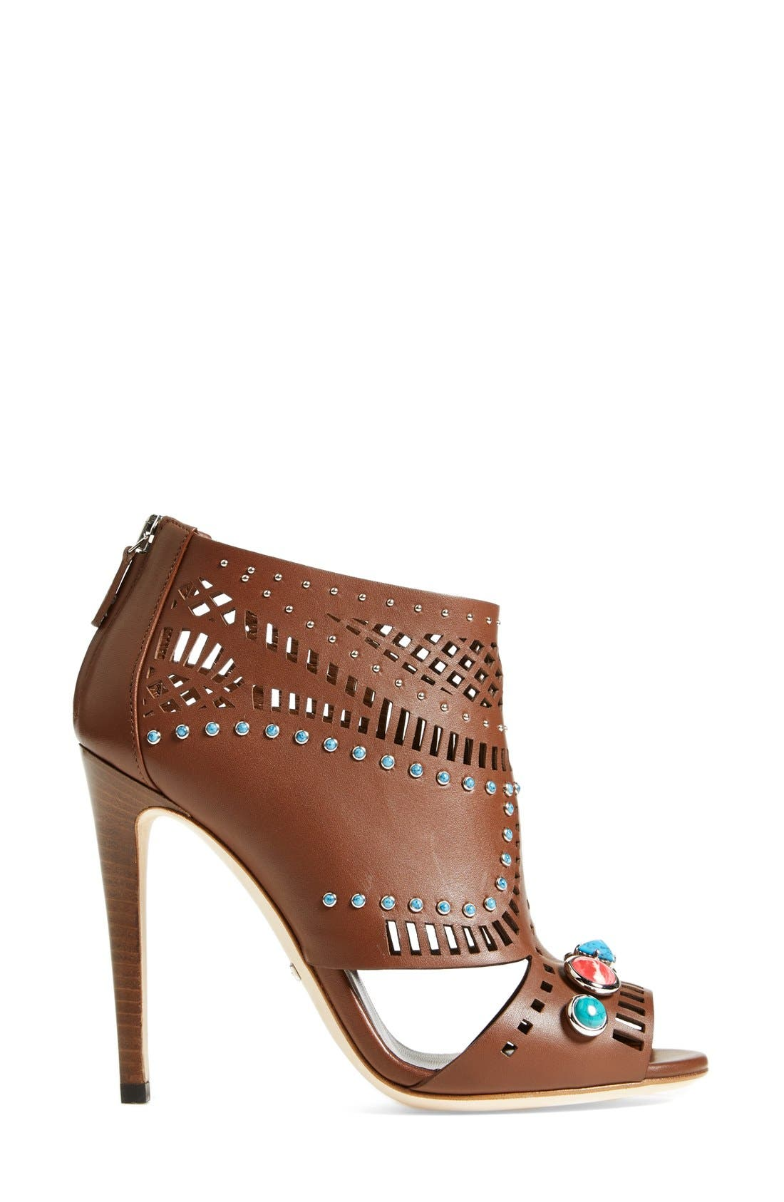 Alternate Image 4  - Gucci 'Lika' Stone Detailed Bootie (Women)