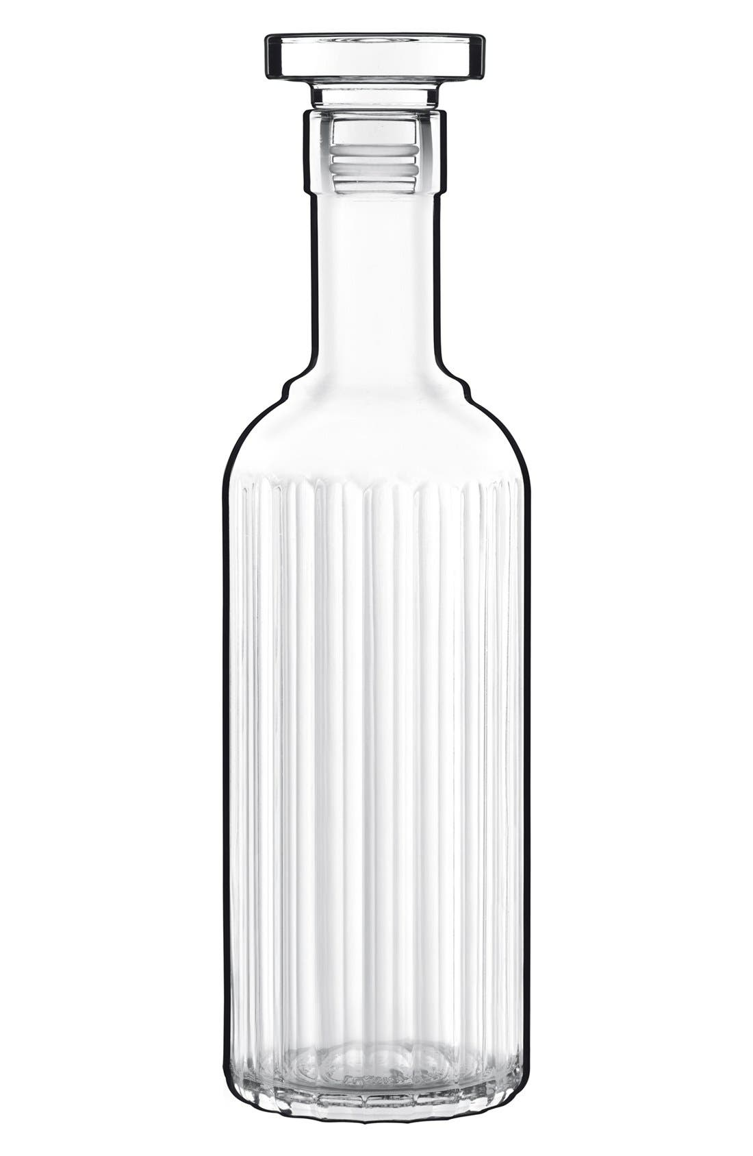'Bach' Spirits Bottle,                             Main thumbnail 1, color,                             White