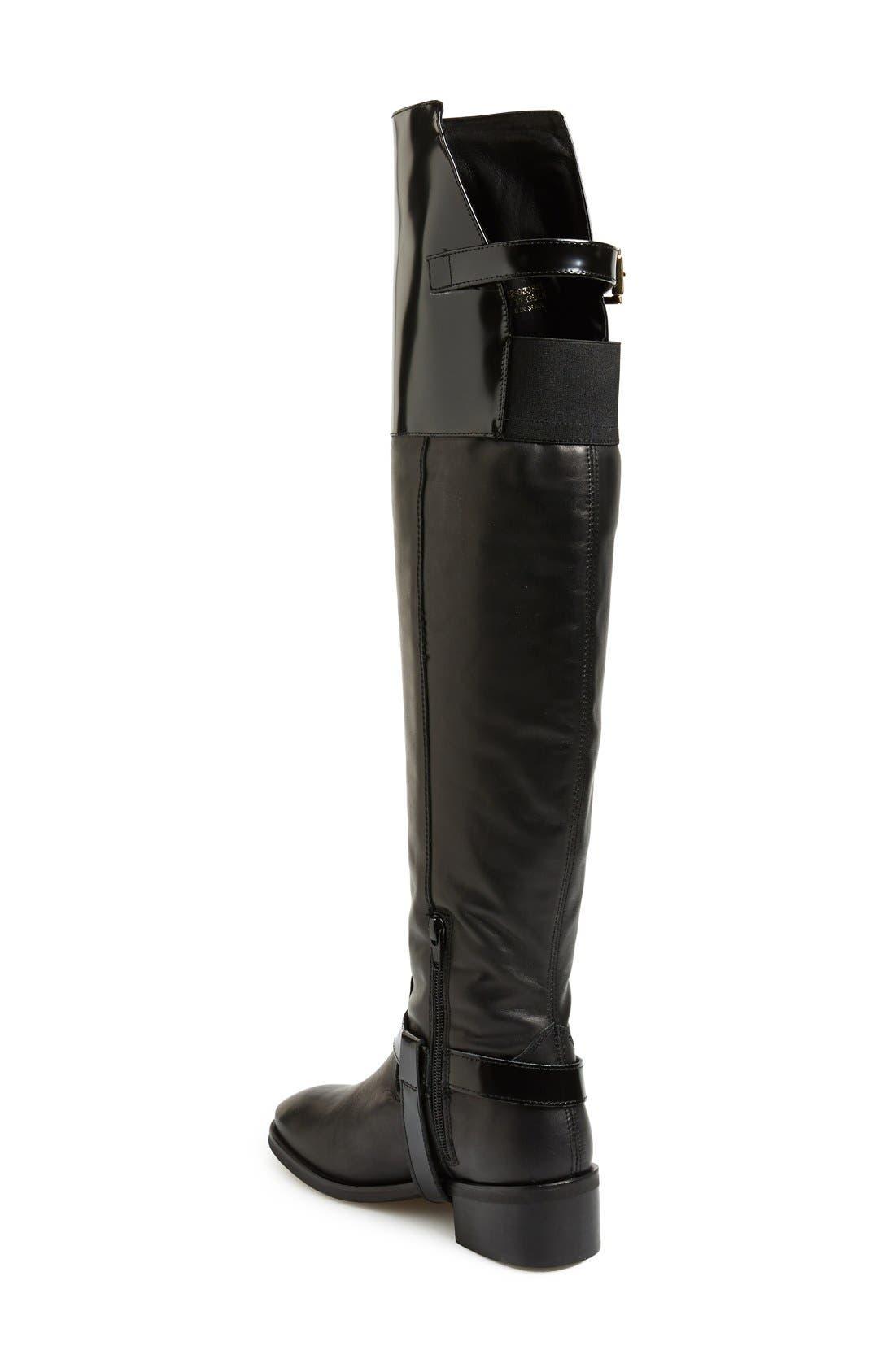 Alternate Image 2  - Topshop 'Dreamer' Over the Knee Riding Boot (Women)