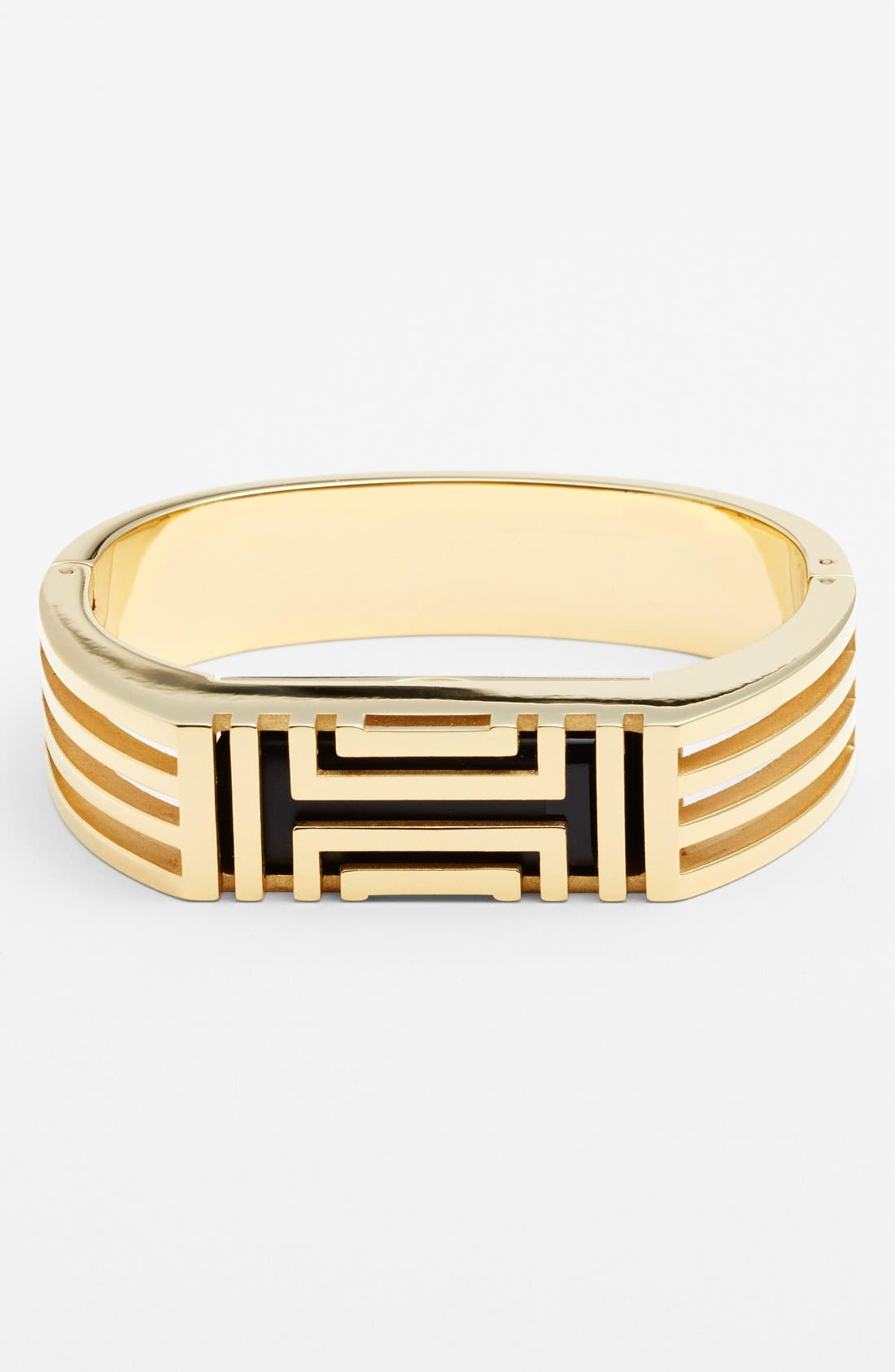 Alternate Image 1 Selected - Tory Burch for Fitbit® Hinged Bracelet