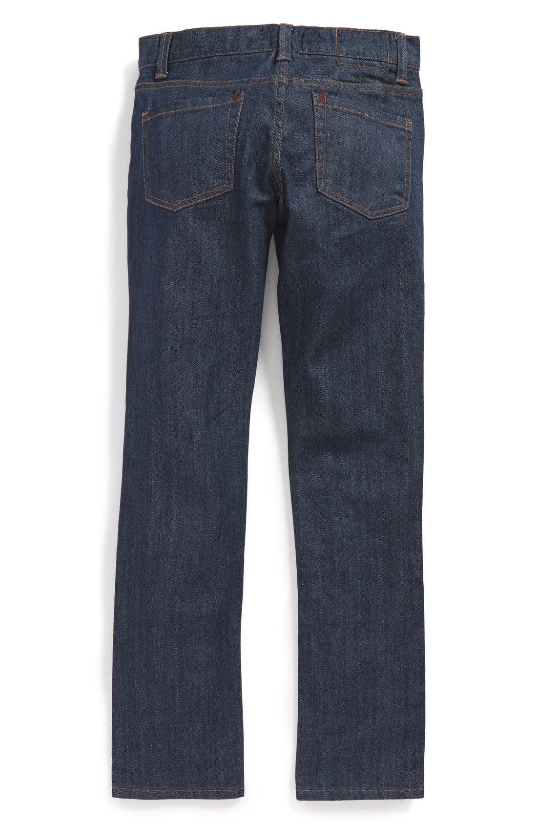 Alternate Image 1 Selected - RVCA 'Regulars Extra' Straight Leg Jeans (Big Boys)