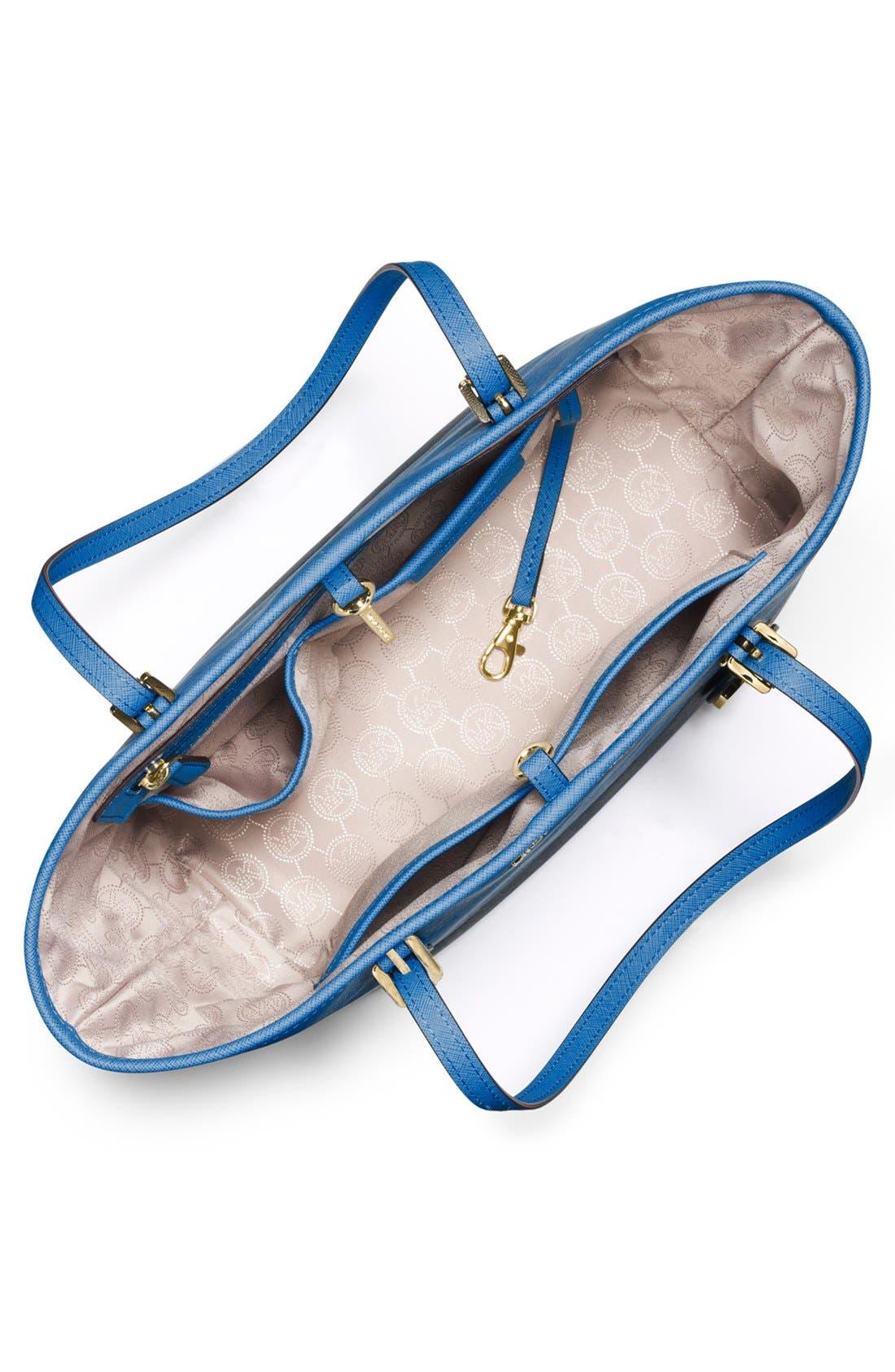 Alternate Image 3  - MICHAEL Michael Kors 'Small Jet Set' Saffiano Leather Travel Tote