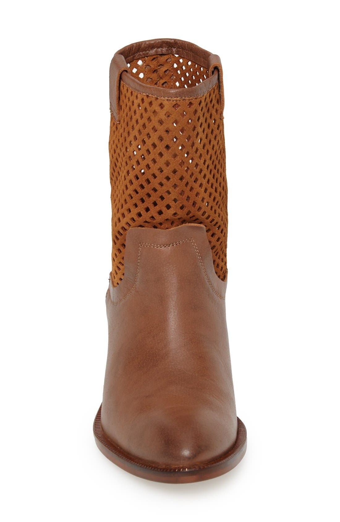 Alternate Image 3  - SIXTYSEVEN 'Laurie' Perforated Leather Short Boot (Women)