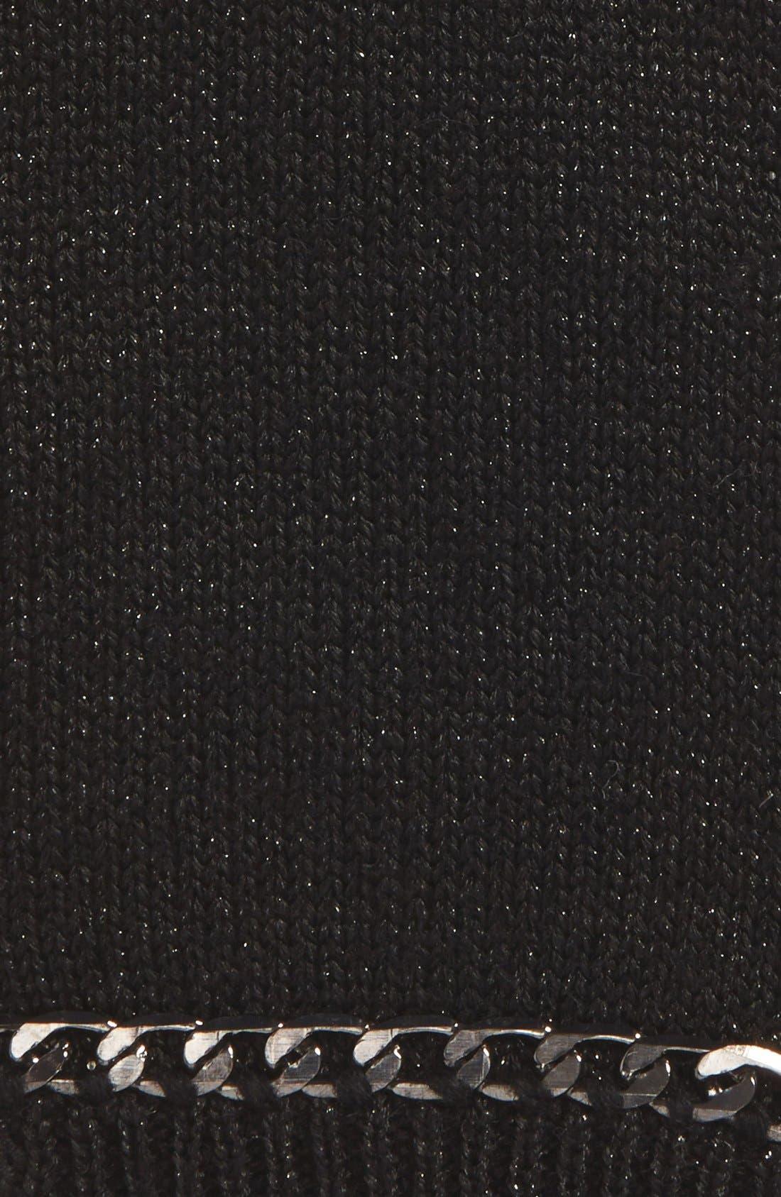 Alternate Image 2  - MICHAEL Michael Kors Chain Accent Fingerless Gloves