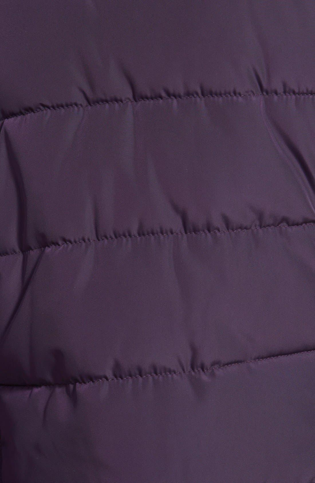 Alternate Image 3  - Steve Madden Faux Fur Collar Puffer Jacket