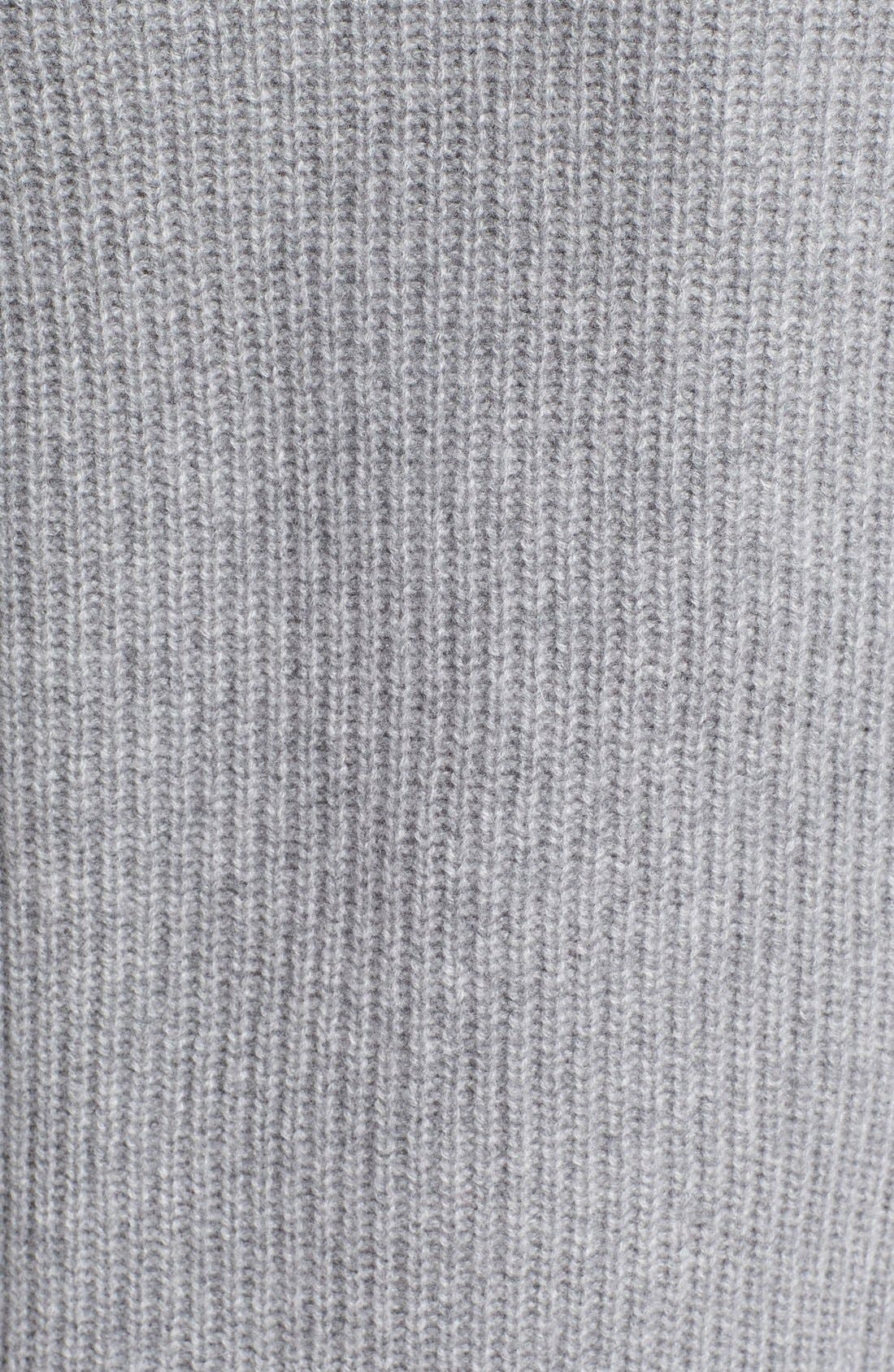 Alternate Image 3  - autumn cashmere Elbow Patch Chunky Cashmere Knit Sweater