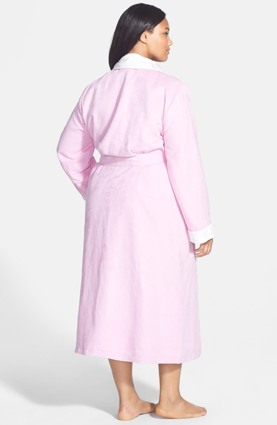 Alternate Image 2  - Nordstrom 'Spa' Robe (Plus)