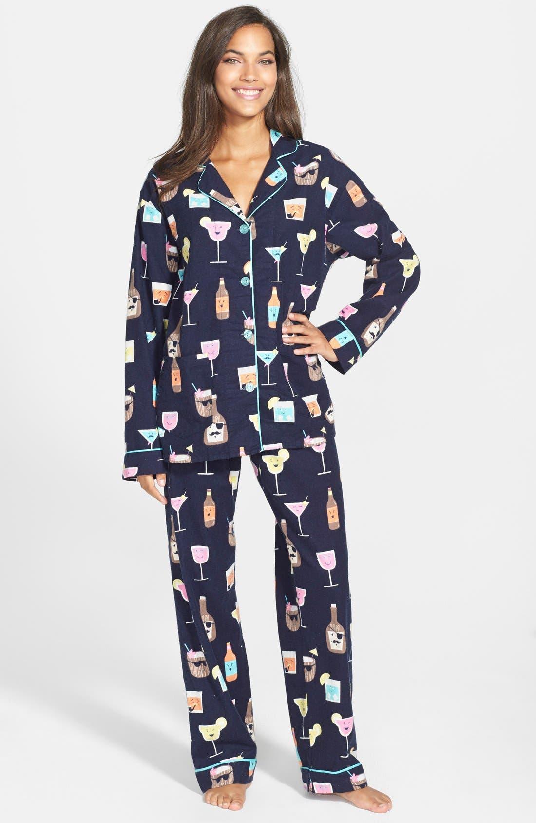Alternate Image 2  - PJ Salvage 'Fall into Flannel' Pajamas