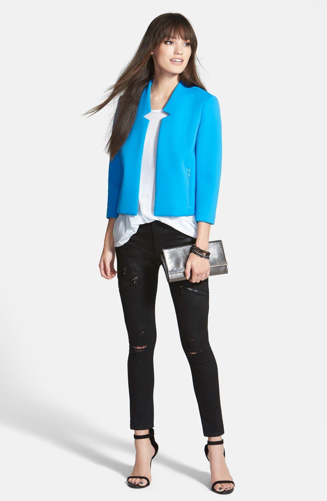 Alternate Image 4  - Hudson Jeans 'Catalyst' Slouch Jeans (Waxed Skylark)