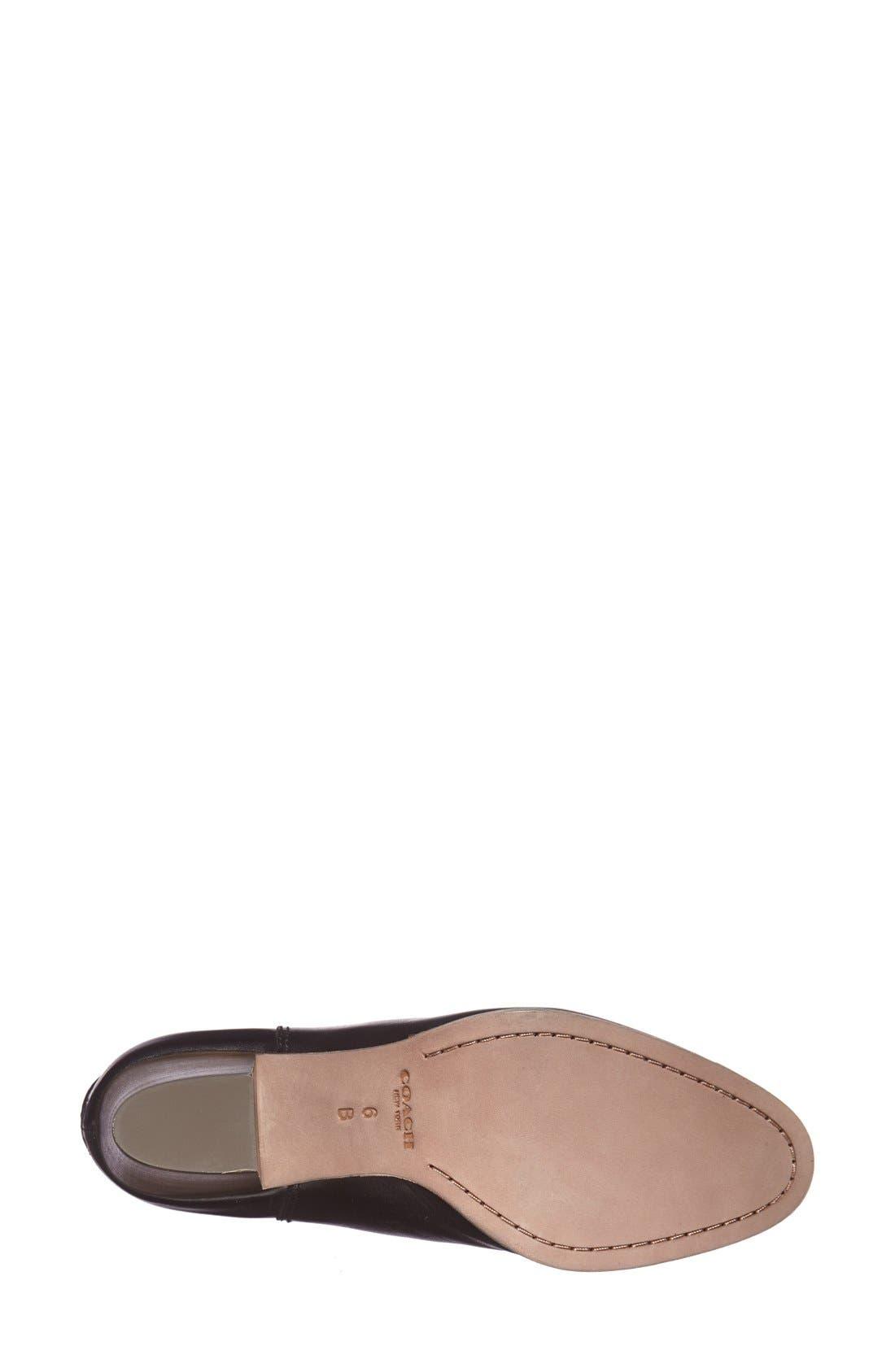 Alternate Image 4  - COACH 'Waldorf' Leather Bootie (Women)