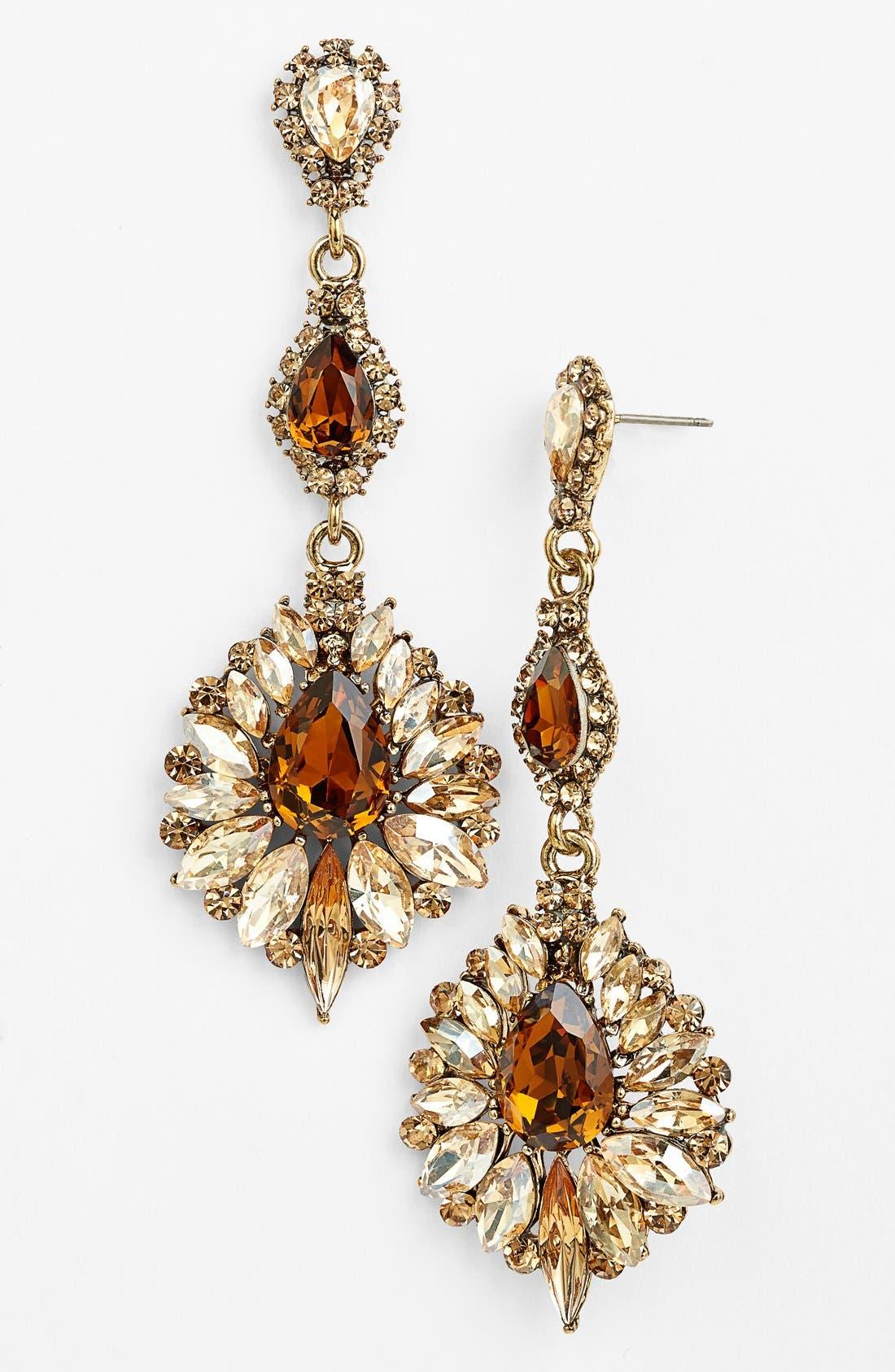 Main Image - Tasha 'Ornate' Drop Earrings