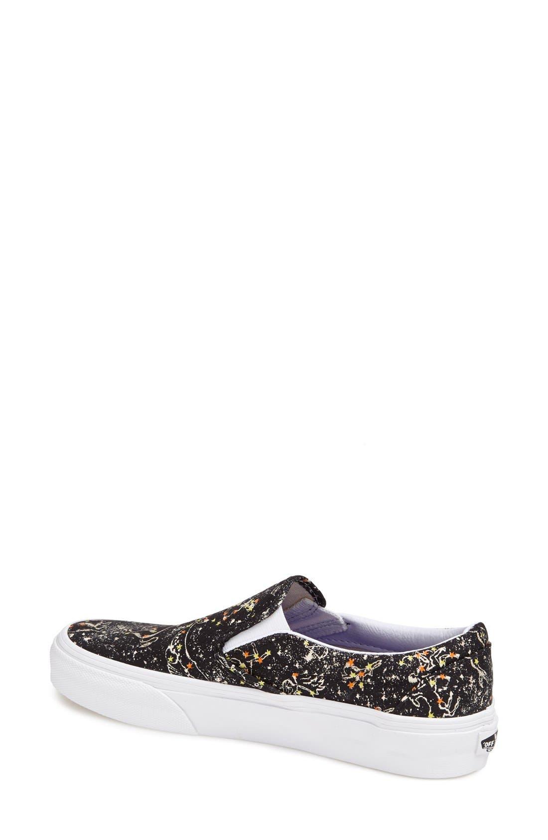 Alternate Image 2  - Liberty x Vans 'Classic' Slip-On Sneaker (Women)