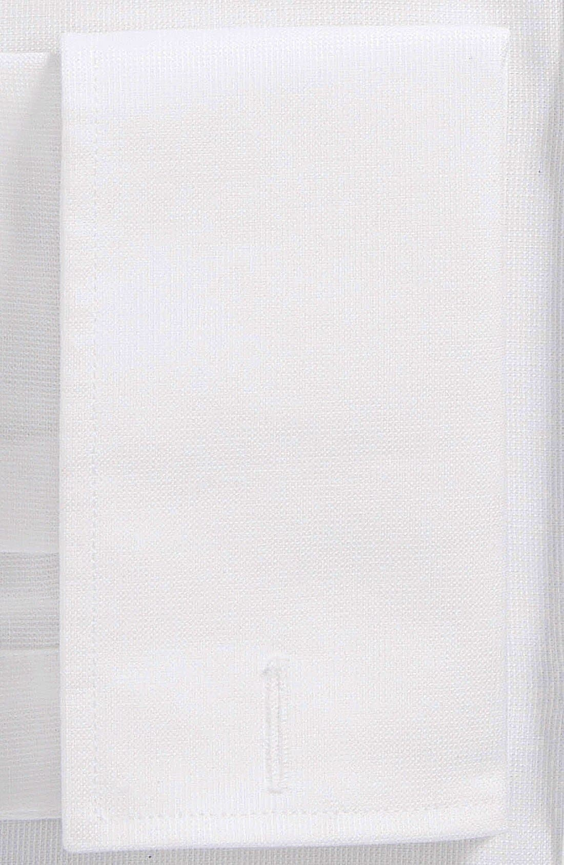 Nordstrom Traditional Fit Non-Iron Dress Shirt,                             Alternate thumbnail 2, color,                             White