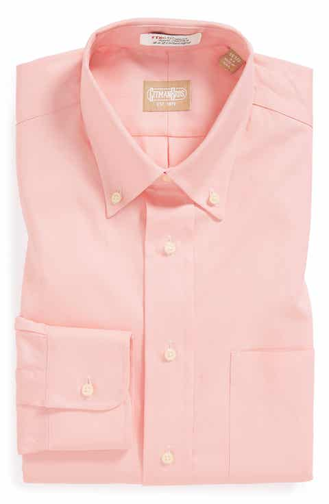 Men's Pink Button-Down Collar Dress Shirts | Nordstrom