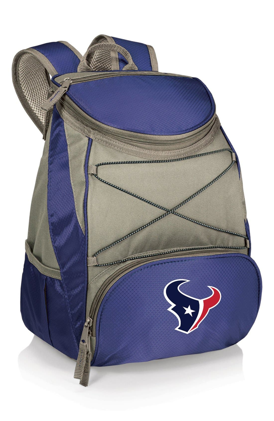 'PTX' Water Resistant Backpack Cooler,                             Main thumbnail 1, color,                             Houston Texans - Navy