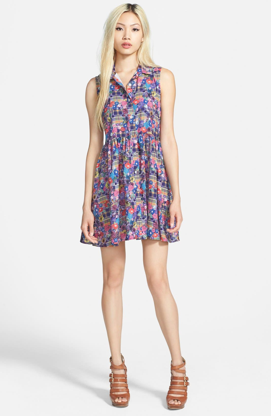 Main Image - MINKPINK 'Not for the Basic' Shirtdress