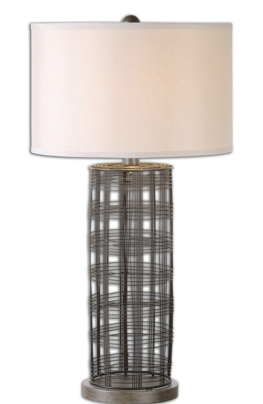 'Engel' Wire Table Lamp,                             Main thumbnail 1, color,                             Grey
