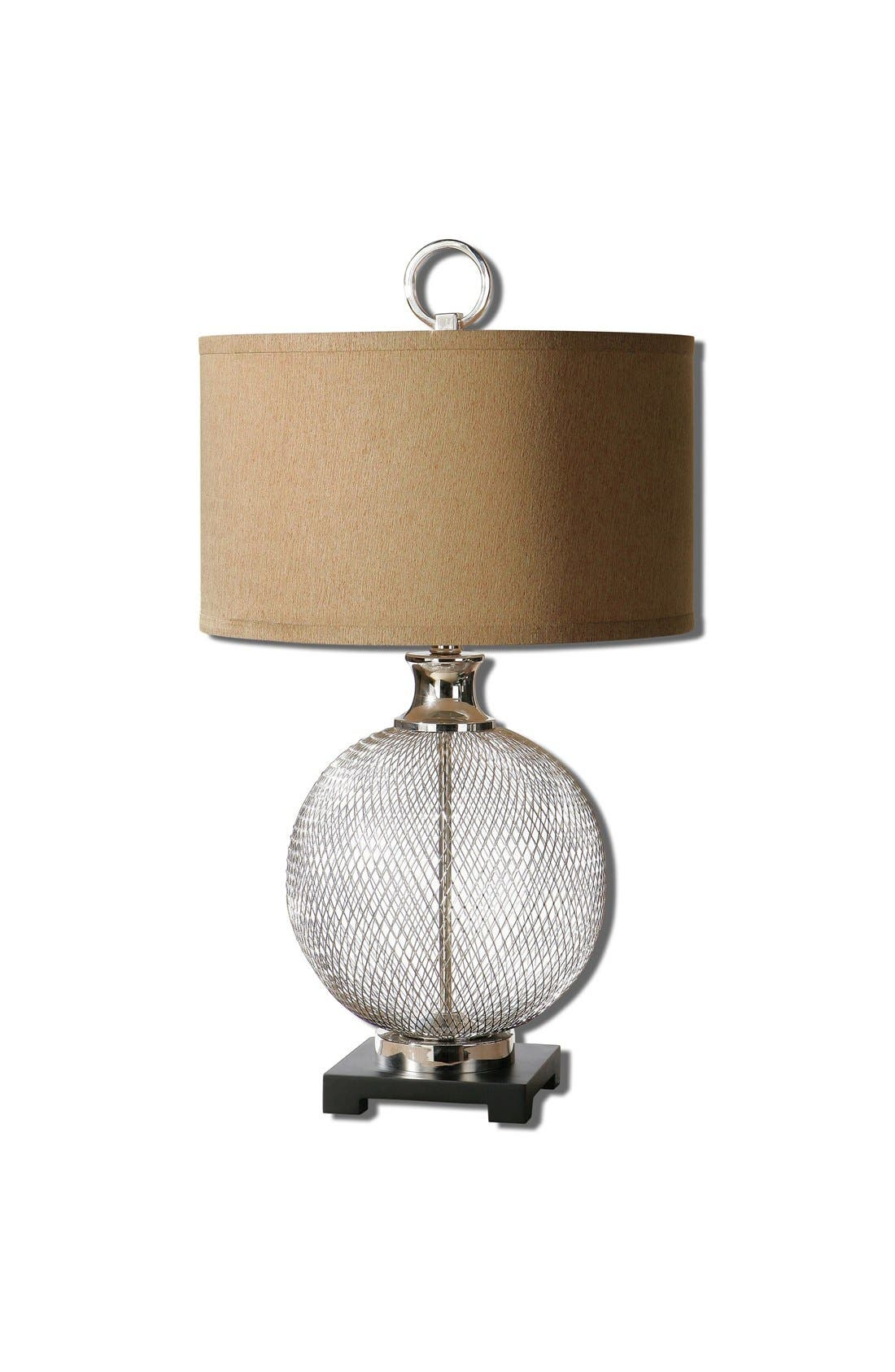 'Catalan' Table Lamp,                         Main,                         color, Beige