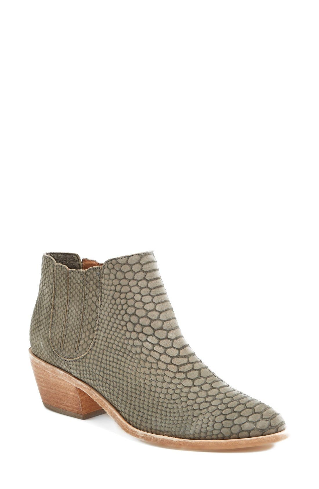 Alternate Image 1 Selected - Joie 'Barlow' Snake Embossed Leather Bootie (Women)
