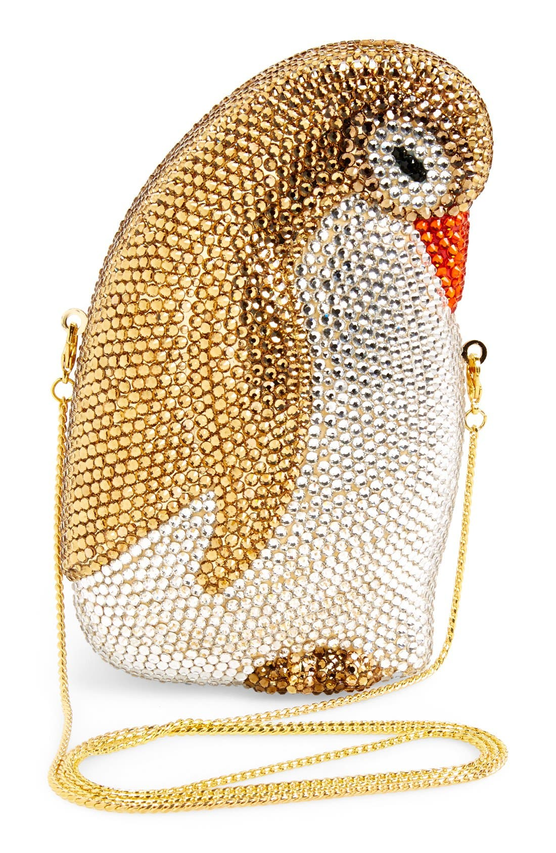 Alternate Image 4  - Natasha Couture 'Penny The Penguin' Crystal Clutch