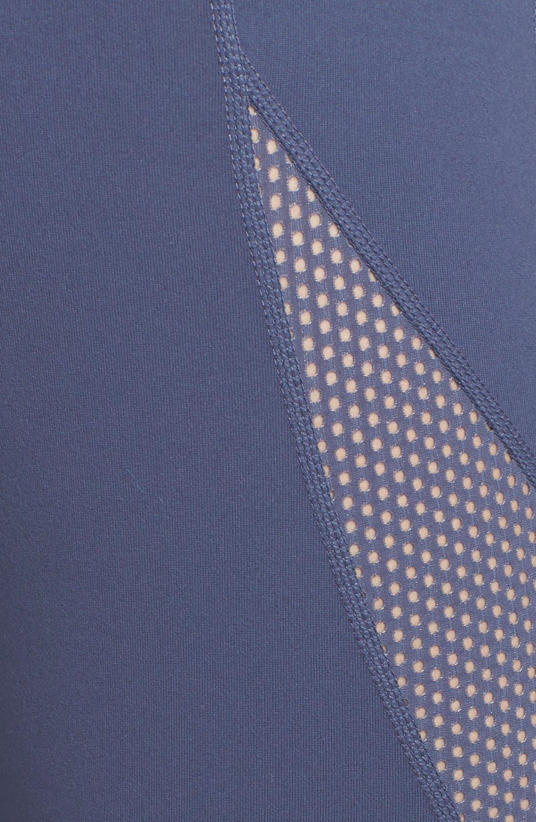 Alternate Image 4  - Zella 'Optic Mesh' Leggings