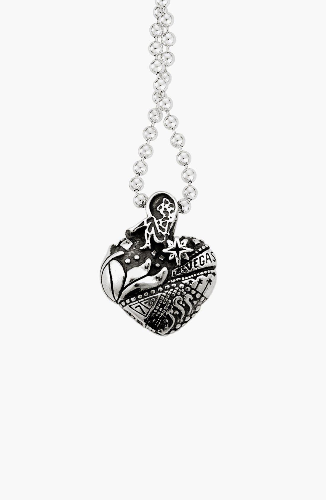 'Hearts of LAGOS - Las Vegas' Reversible Pendant Necklace,                             Alternate thumbnail 3, color,                             Heart Of Las Vegas
