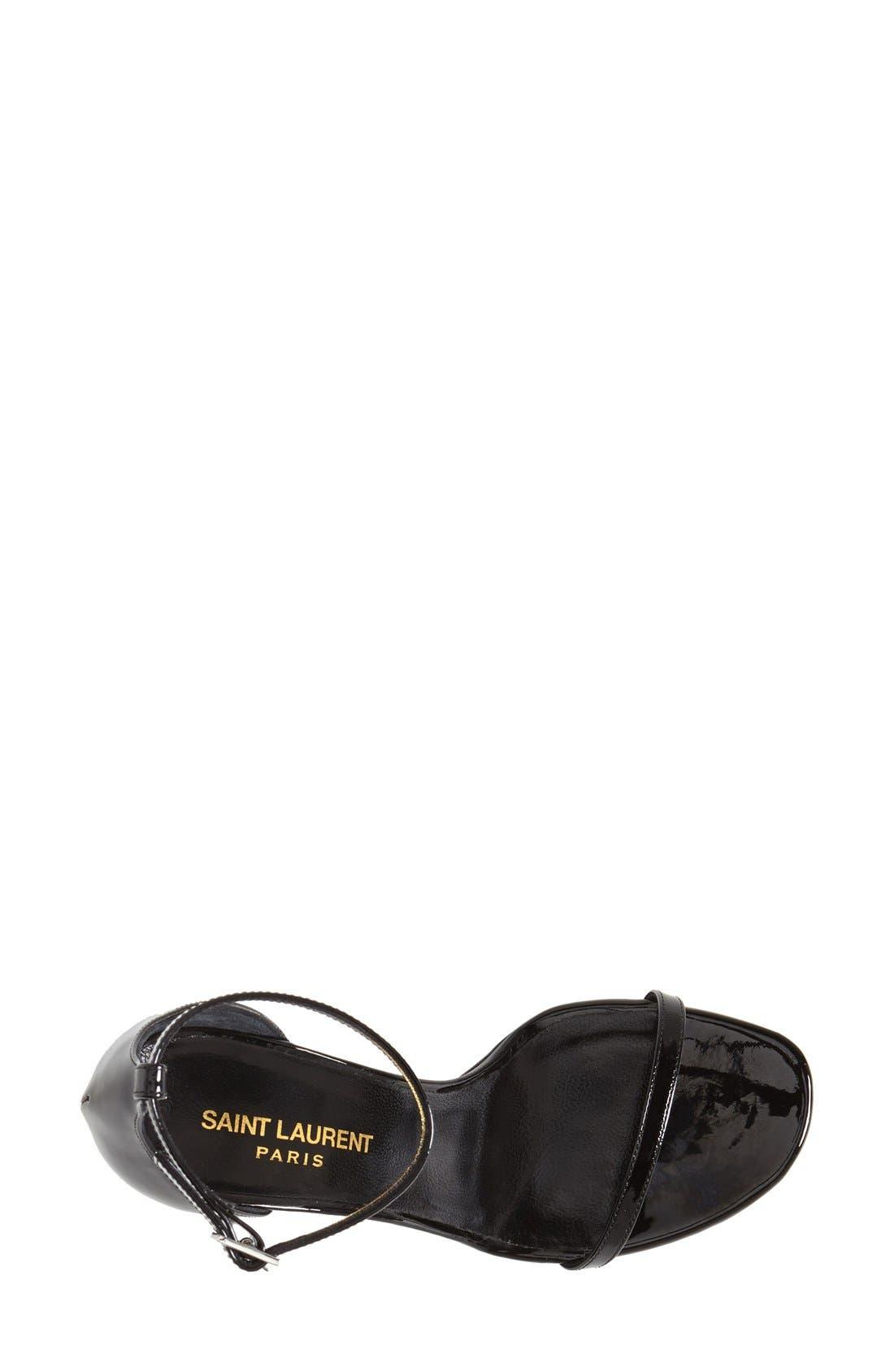 Alternate Image 3  - Saint Laurent 'Jane' Ankle Strap Sandal (Women)