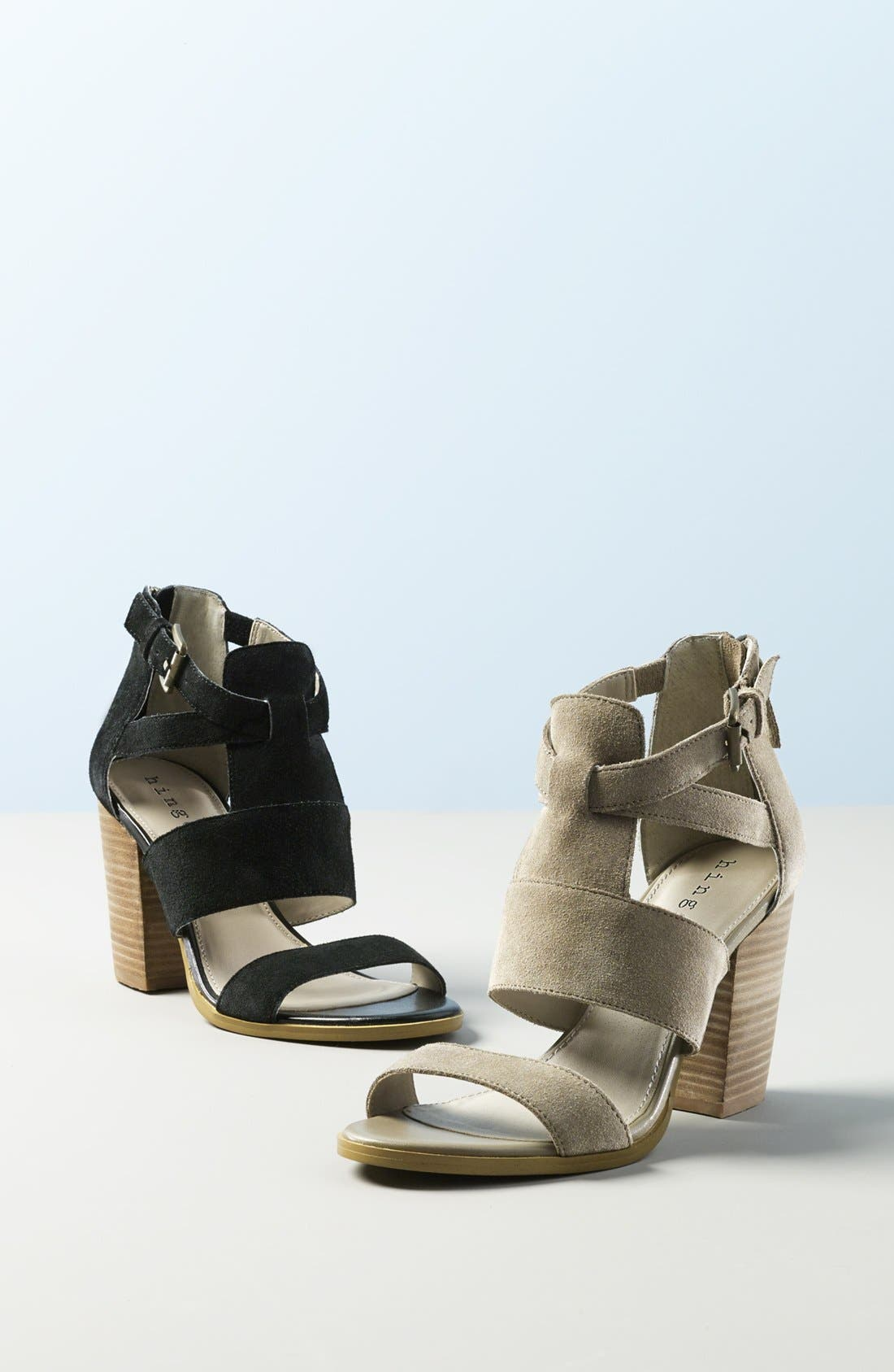 'Cora' Block Heel Sandal,                             Alternate thumbnail 2, color,