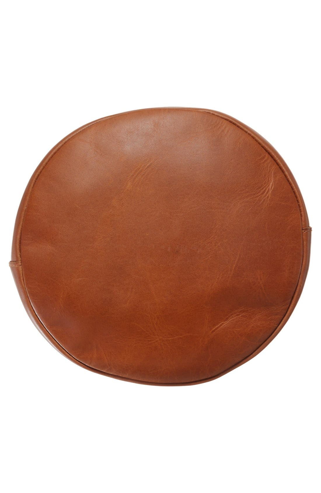 Alternate Image 6  - Madewell O-Ring Leather Bucket Bag