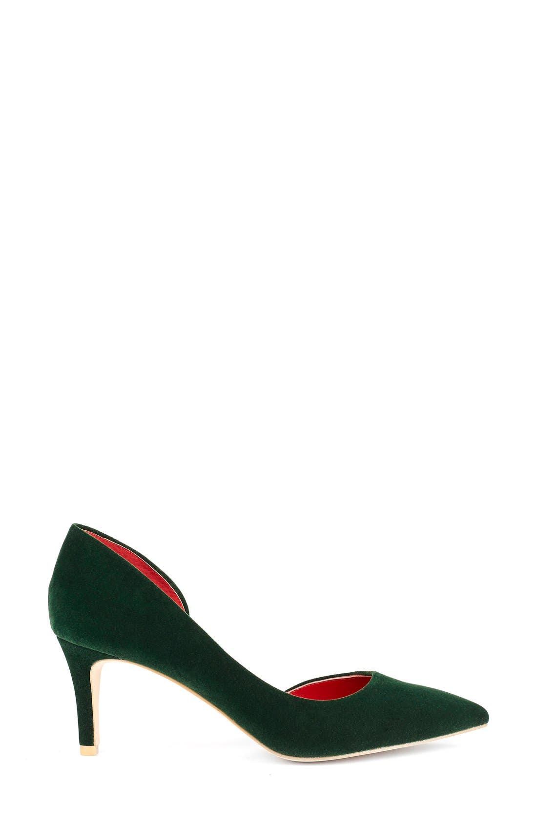 Alternate Image 5  - Shoes of Prey x Kim Jones La Dolce Vita Collection Half d'Orsay Pump (Women)