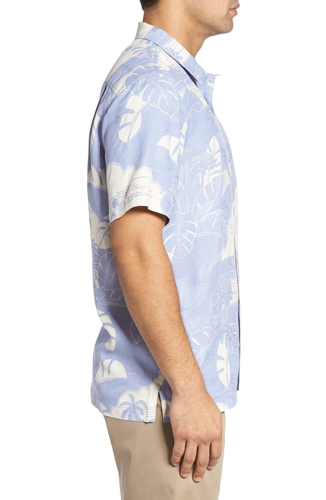 Alternate Image 3  - Tommy Bahama Bon Voyage Isle Silk Shirt