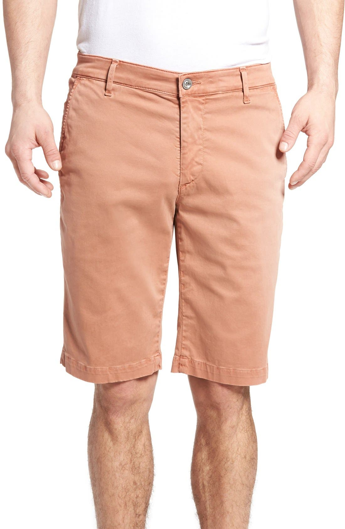 'Griffin' Chino Shorts,                         Main,                         color, Sulfur Canyon