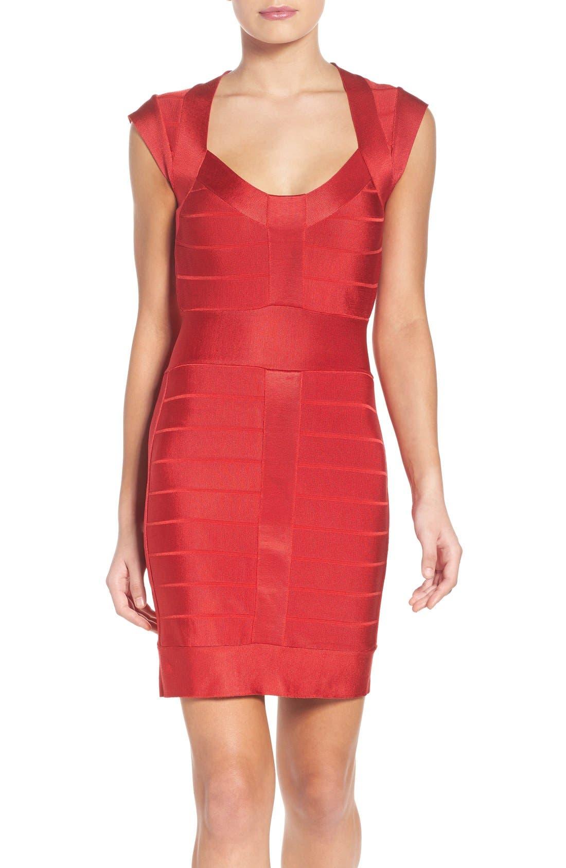 French Connection Spotlight Bandage Dress