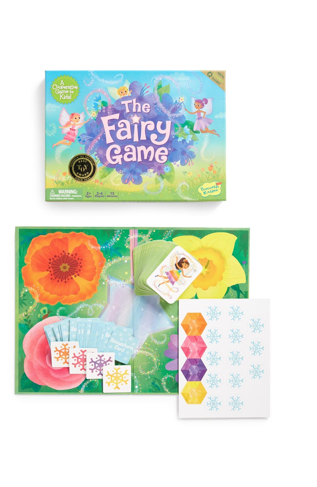 Peaceable Kingdom The Fairy Game Cooperative Board Game