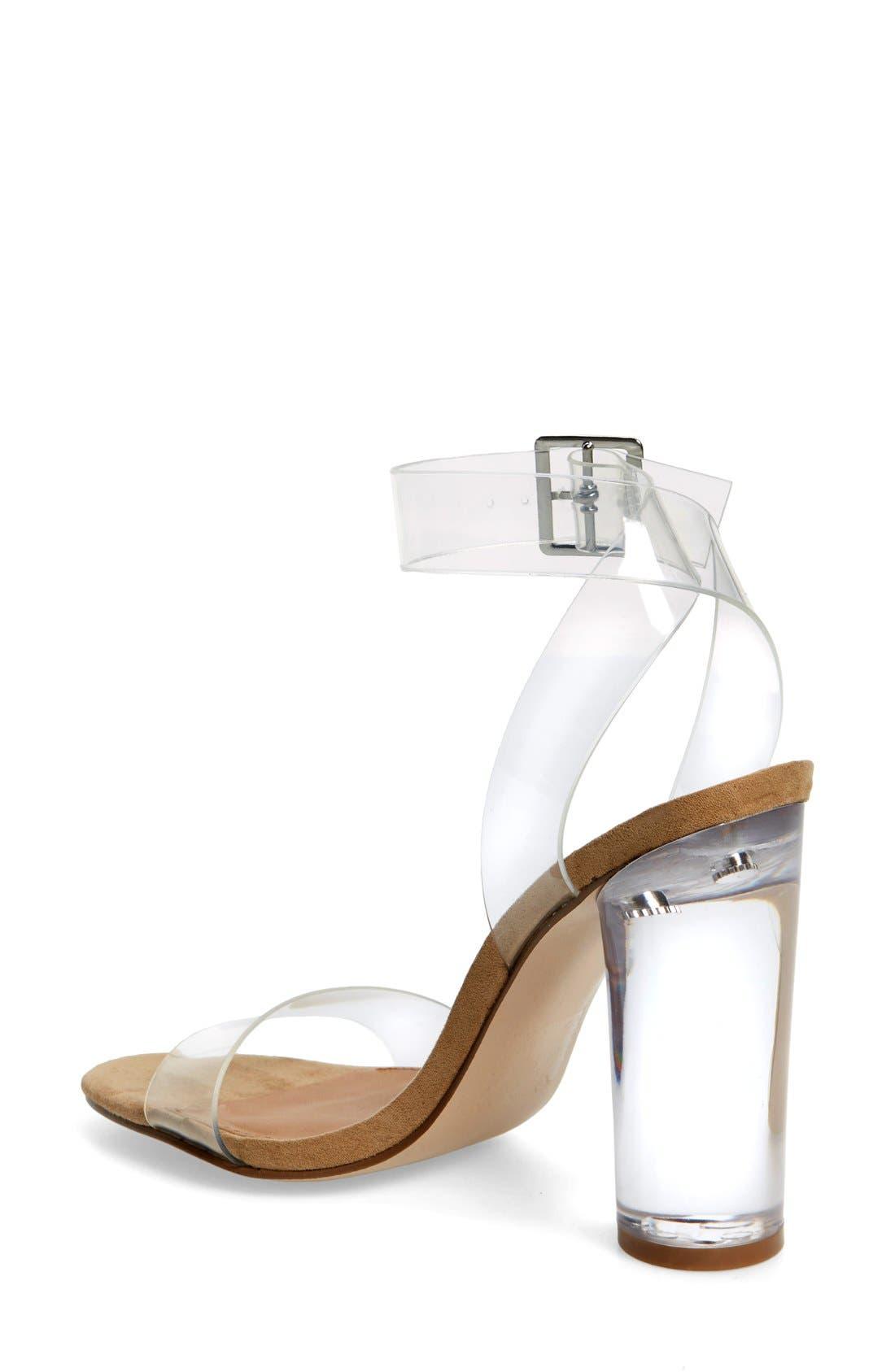 Alternate Image 2  - Steve Madden Clearer Column Heel Sandal (Women)