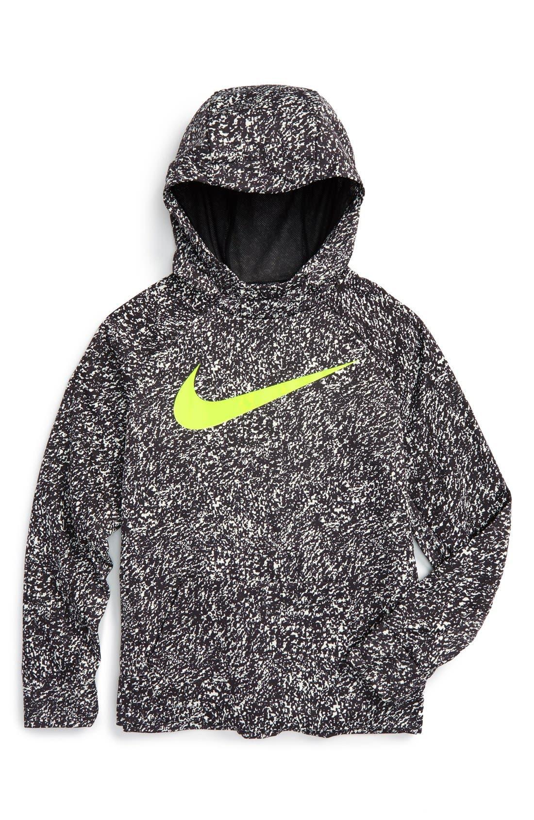 Alternate Image 1 Selected - Nike Thermal Dri-FIT Hoodie (Little Boys & Big Boys) (Regular Retail Price: $50.00)