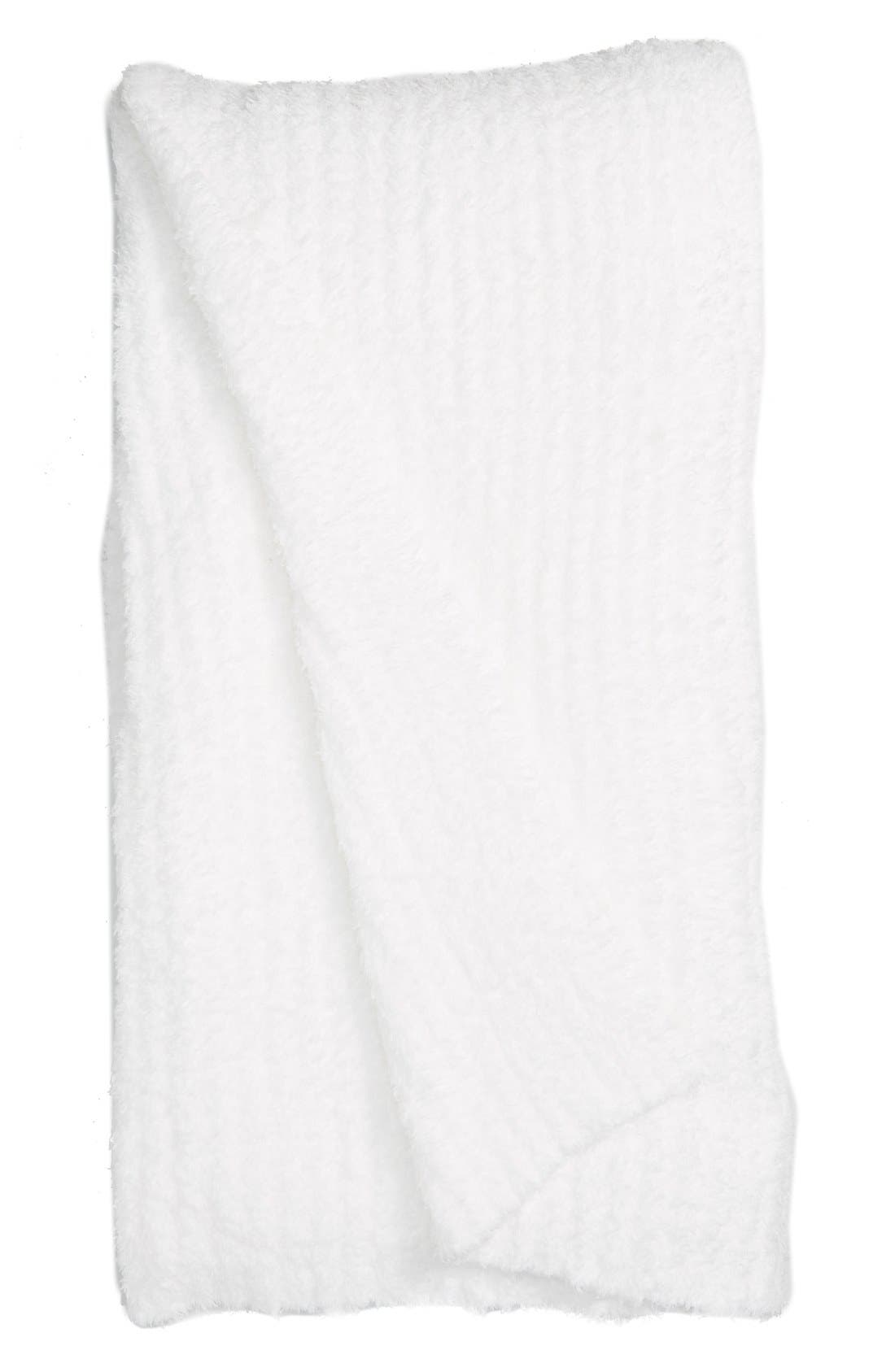Alternate Image 1 Selected - Barefoot Dreams® 'CozyChic®' Ribbed Blanket