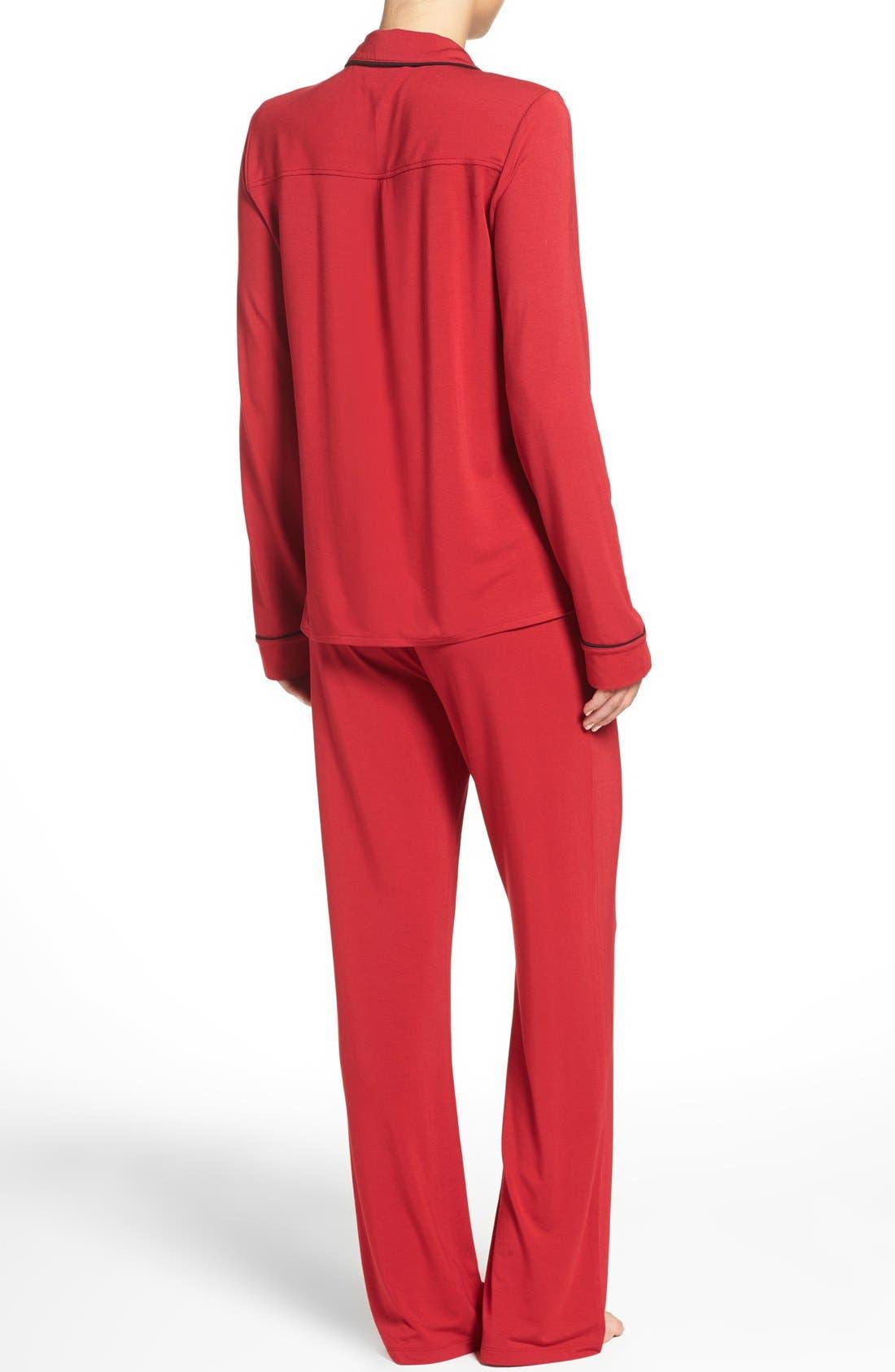 Alternate Image 2  - PJ Salvage Pajamas & Sleep Mask