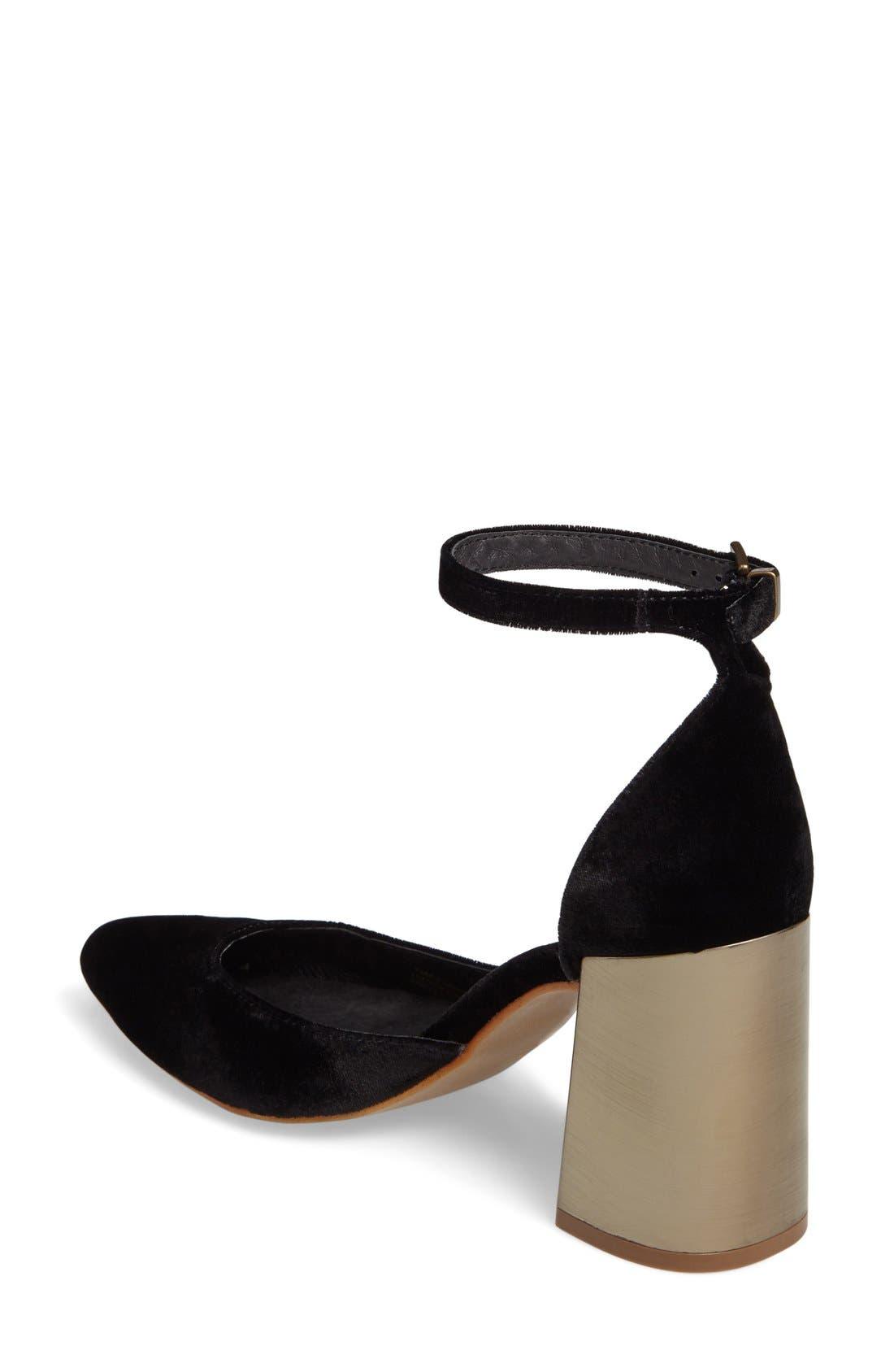 Alternate Image 2  - Shellys London Torrance Block Heel Pump (Women)