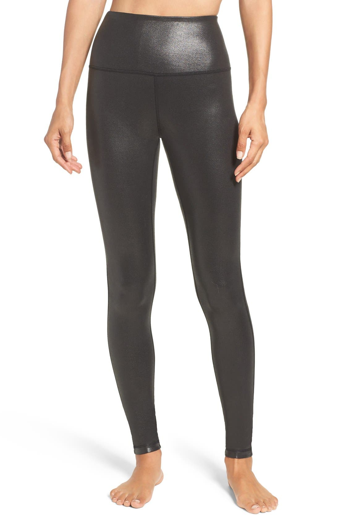 Alternate Image 1 Selected - Zella Live-In High Waist Leggings (Online Only)