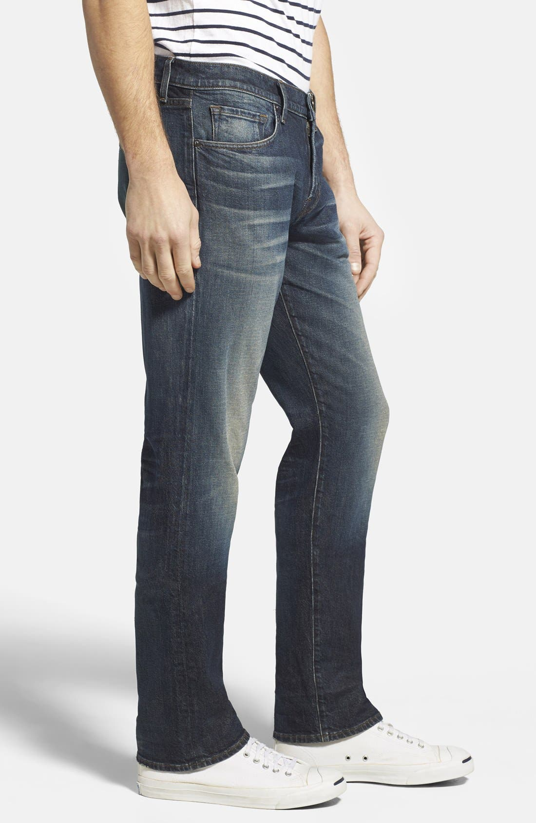 Alternate Image 3  - J Brand 'Kane' Slim Straight Leg Jeans (Bronson)
