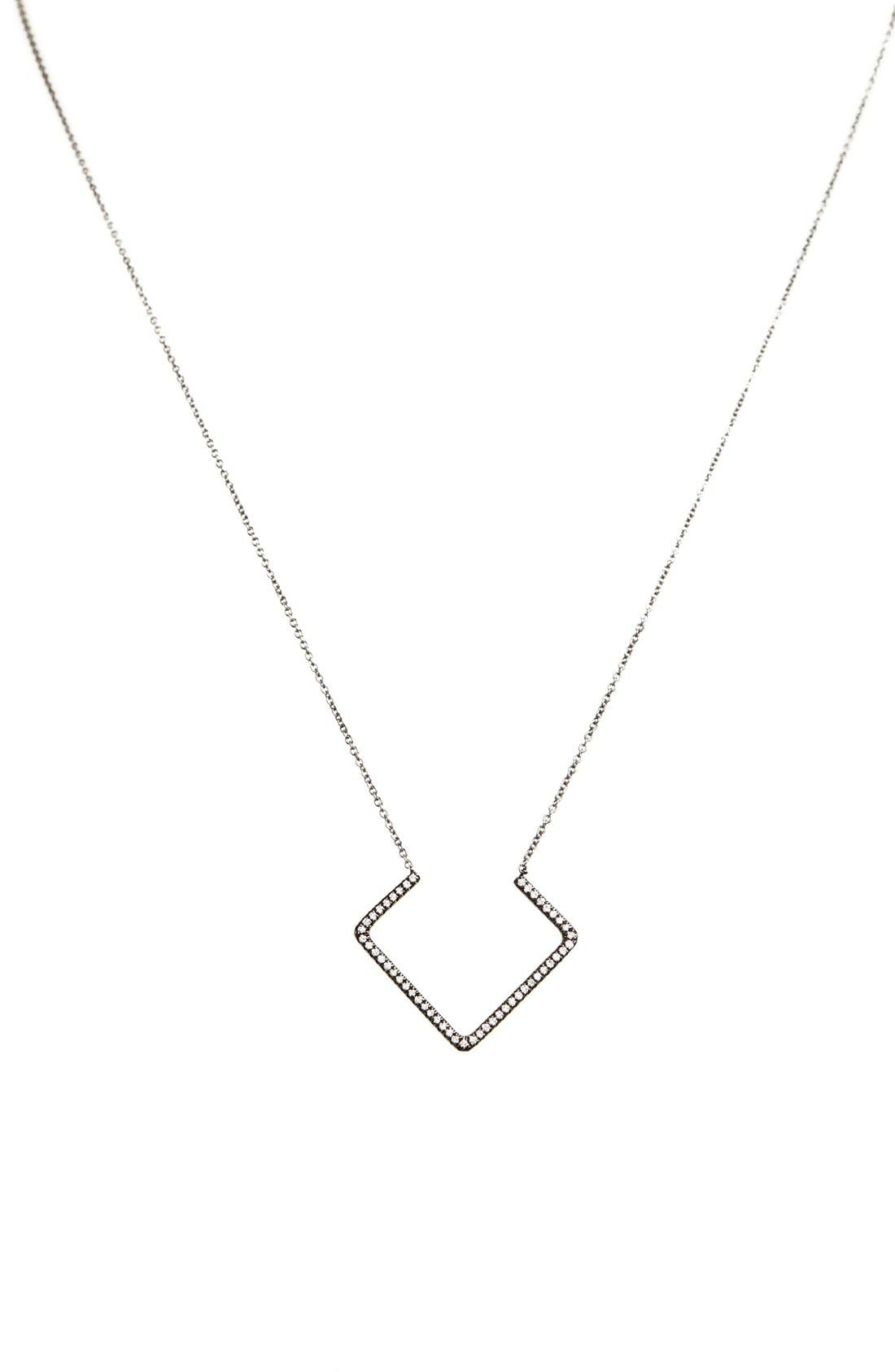 Main Image - Bony Levy Diamond Pendant Necklace (Nordstrom Exclusive)