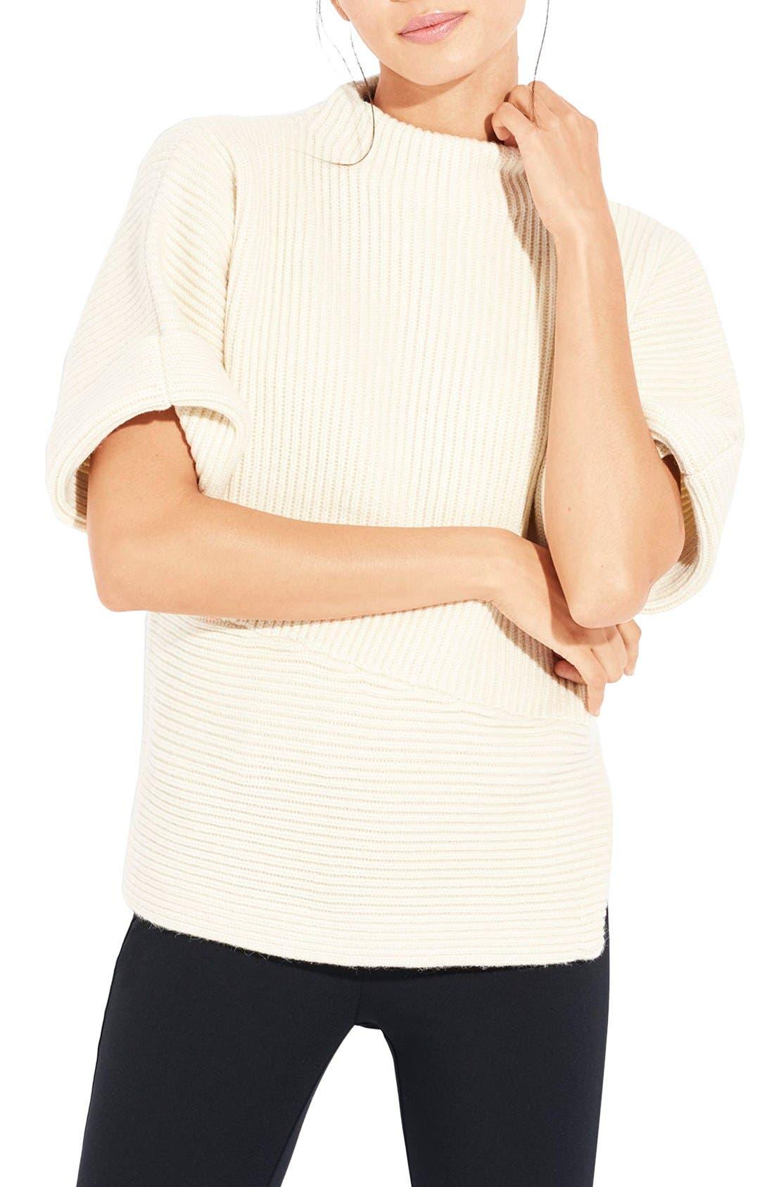 Alternate Image 1 Selected - AYR The Fika Merino & Alpaca Rib Sweater