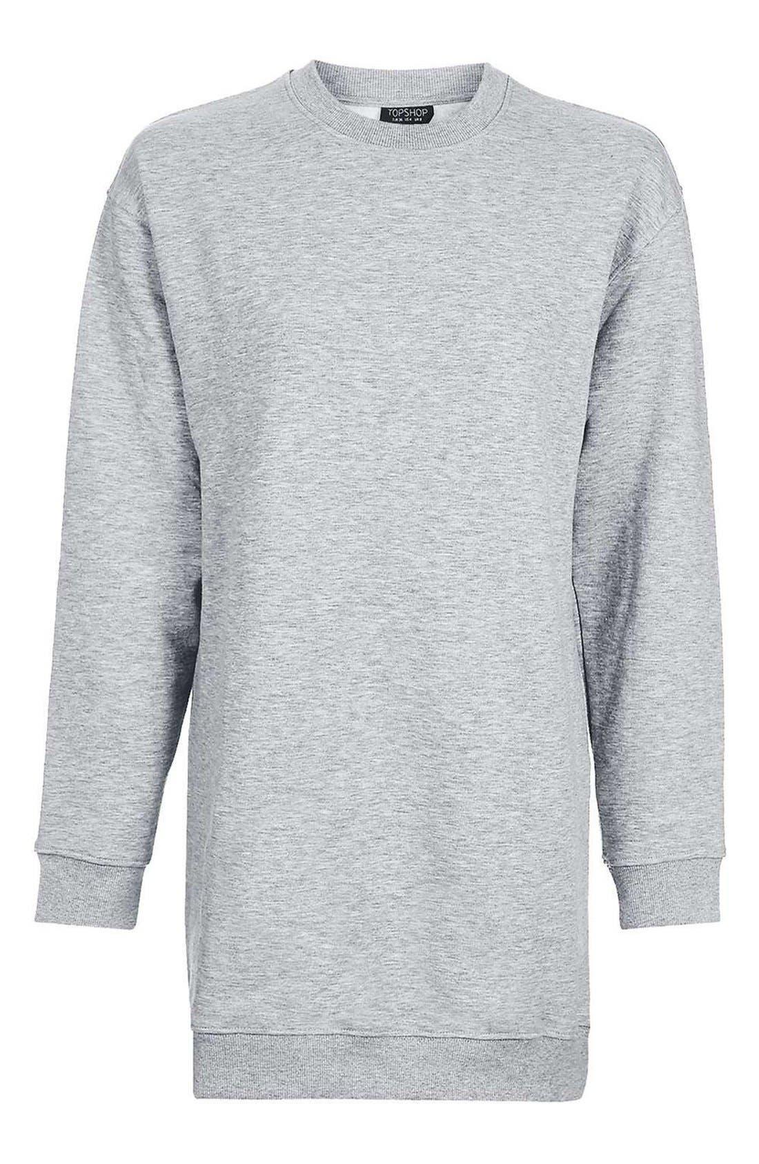 Alternate Image 4  - Topshop Sweatshirt Tunic