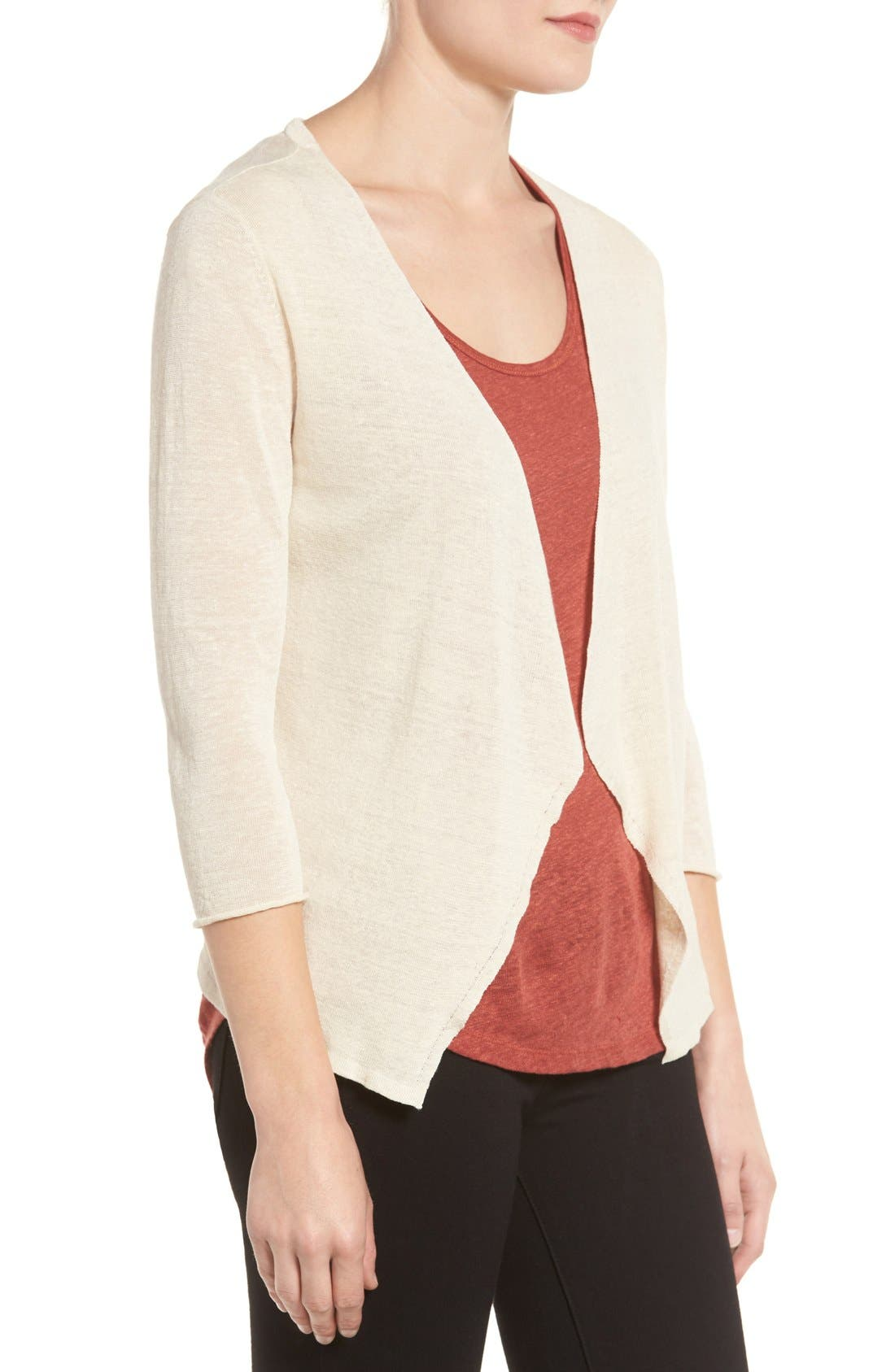Alternate Image 3  - NIC+ZOE Open Blazer Cardigan